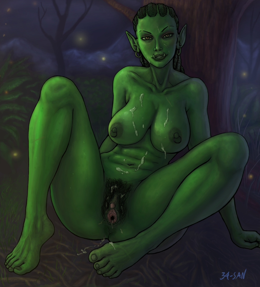 Orc pussy nude scenes