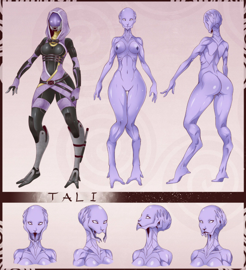 Mass effect tali nude fucking pictures