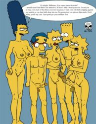 2boys 3girls age_difference areola armpit aroused bart_simpson breasts brother_and_sister edit female hips huge_cock huge_nipples huge_testicles hyper hyper_penis imminent_sex incest large_breasts large_penis licking_lips lisa_simpson lowres maggie_simpson male marge_simpson milf milhouse_van_houten muscle_tone nipples penis penis_grab perky_breasts pussy ragetheripper sagging_breasts the_fear the_simpsons