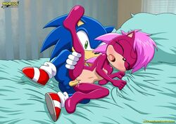 bed brother brother_and_sister cum cum_in_pussy cum_inside incest mobius_unleashed palcomix pillow sex sister sonia_the_hedgehog sonic_(series) sonic_the_hedgehog uncensored