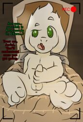 3_toes 4_fingers asriel_dreemurr balls bed chara_(undertale) feet lens_flare masturbation penis recording soles teenager toes undertale video_games young