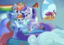 2017 blue_eyes daughter dildo equine female female/female feral friendship_is_magic group group_sex half-closed_eyes horn hybrid magic mammal mother mother_and_daughter my_little_pony nipple_piercing nipples open_mouth parent pegasus piercing purple_eyes pusspuss pussy pussy_juice rainbow_dash_(mlp) rarity_(mlp) reptile scalie scootaloo_(mlp) sex sex_toy snake teeth threesome tongue unicorn vibrator windy_whistles_(mlp) wings yuri