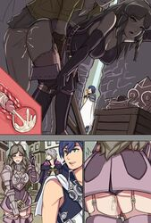 brown_eyes brown_hair cheating chrom clothed_sex cum cum_in_pussy female fire_emblem fire_emblem:_kakusei my_unit_(fire_emblem:_kakusei) sequential sex sumia sumia_(fire_emblem)